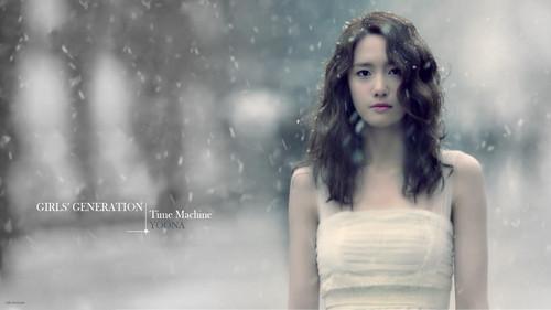 SNSD YoonA Time Machine Wallpaper