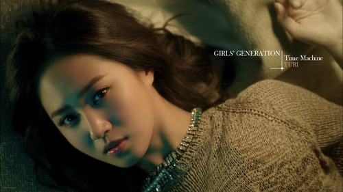 Girls Generation/SNSD wallpaper probably with a portrait called SNSD Yuri Time Machine Wallpaper