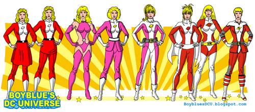 Saturn Girl from the Legion of Super-Heroes LSH - dc-comics Fan Art