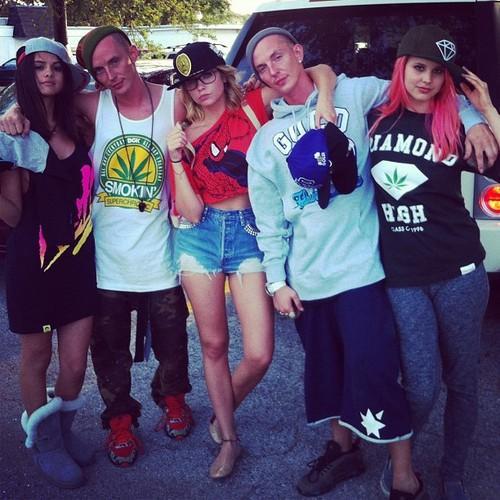 Selena Gomez, Ashley Benson and Rachel Korine
