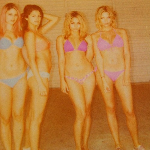 Selena Gomez, Vanessa Hudgens, Ashley Benson and Rachel Korine