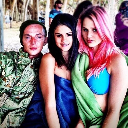 Selena Gomez and Rachel Korine