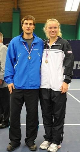 Skoloudik and Wozniacki