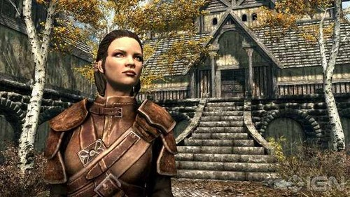 Elder Scrolls V : Skyrim वॉलपेपर containing a breastplate called Skyrim