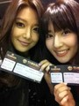 SooYoung and her sister, SooJin @ SHINHWA's concert