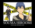 Souma Izaya - working photo