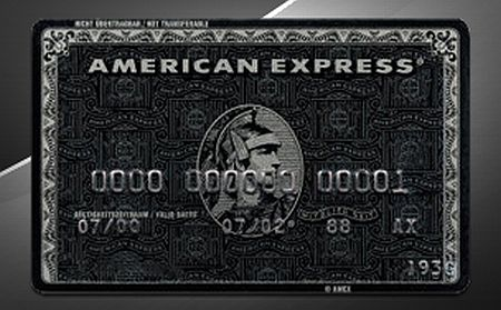 THE CENTURION CARD – AMEX BLACK CARD bởi invitation only
