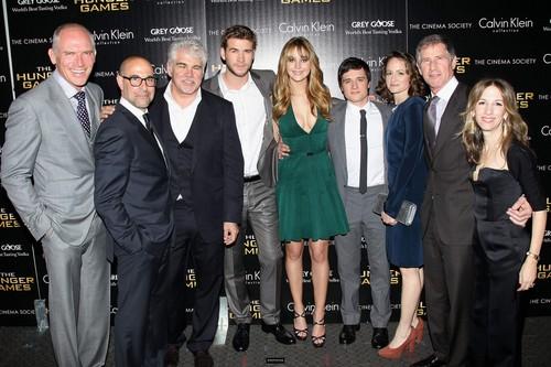THG NYC premiere