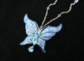 The Blue papillon