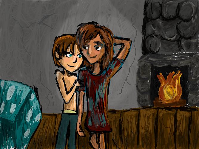Their own lều, cabin