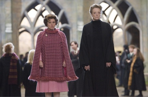 Umbridge and McGonagall