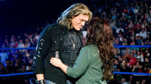 Vickie Guerrero and Edge:WWE's Power Couples