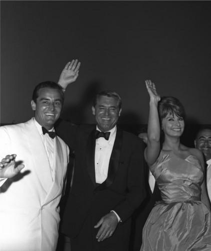 Vittorio Gassman, Cary Grant & Sophia Loren