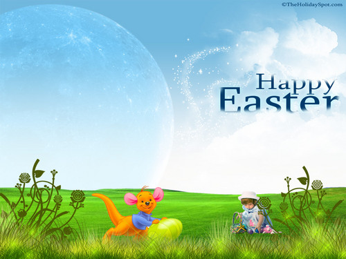 Happy Easter All My fan wallpaper titled Winnie The Pooh Easter