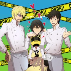 Working!!/Durarara crossover