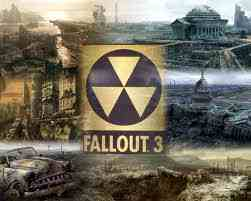 Fallout 3 fond d'écran possibly containing a street, a business district, and a nuclear reactor titled fallout 3