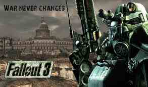 Fallout 3 壁纸 probably containing 日本动漫 called fallout 3