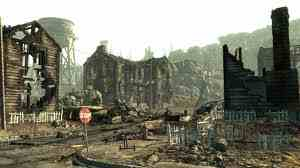 Fallout 3 wallpaper containing a business district called fallout 3