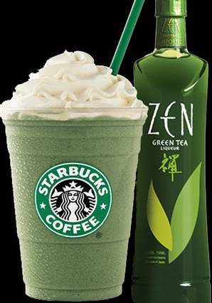 green tea frap - starbucks Photo