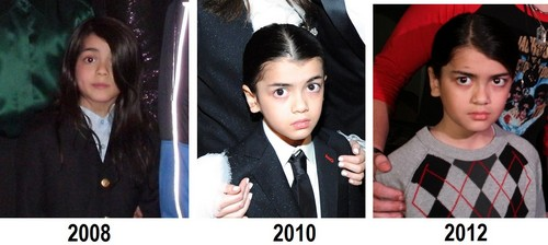 i dont want blanket jackson to grow up :( look at him growing up looking like his dad MJ :)