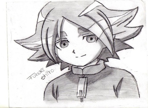 inazuma eleven drawing