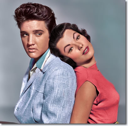 judy tyler and elvis presley