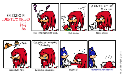 knuckles identity crisis