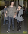 lea-michele-cory-monteith-jfk-01 - cory-monteith photo