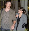lea-michele-cory-monteith-jfk-01 - lea-michele-and-cory-monteith photo