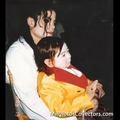 michael and michu  - michael-jackson photo