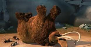ice age ellie gives birth