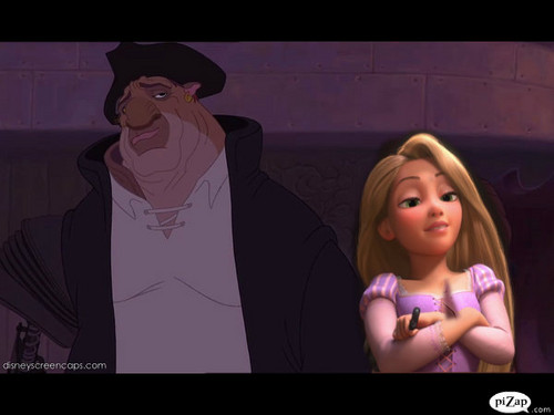 rapunzel and john silver