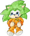 scar the hedgehog {i know...he looks like scourge..but thats the point} - scourge-the-hedgehog photo