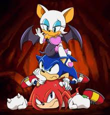 Sonic X wallpaper containing anime titled sonic x characters