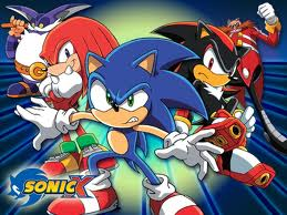 Sonic X wallpaper containing anime entitled sonic x characters