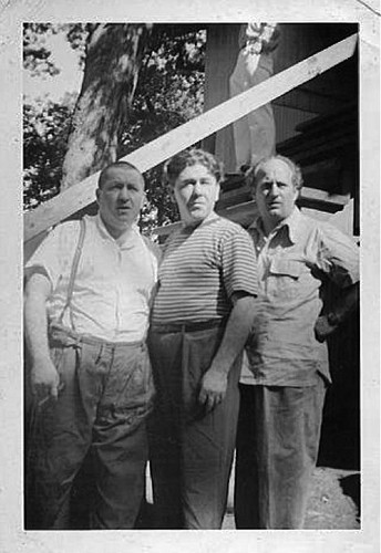 Three Stooges wallpaper probably containing a green berretto, beret titled the three stooges