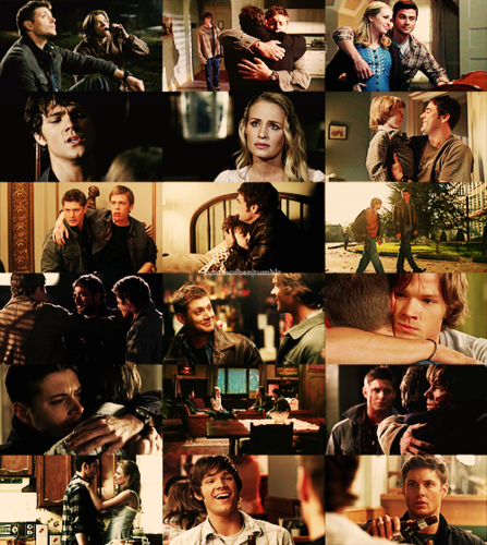tv meme | 02 favourite families → the winchesters. (01/02)