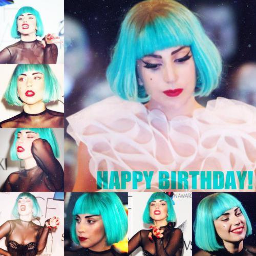 ♥Happy Birthday Mother Monster-Lady GaGa!♥