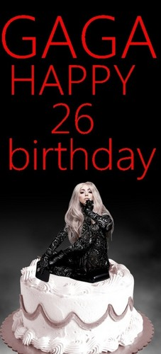 ♥Happy Birthday Mother Monster-Lady GaGa!♥