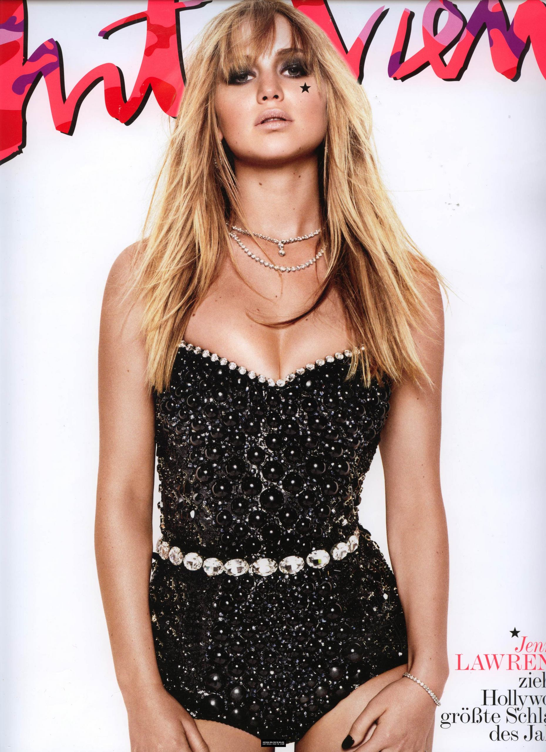Interview Magazine scans jenn