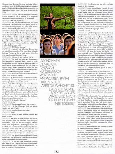 Interview Magazine scans