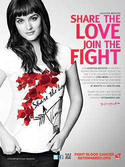"""""""Share The Love"""" Campain for Blood Cancer"""