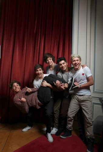 1D. ♥ {Em Paris photoshoot}