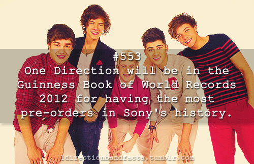 1D's Facts♥♥