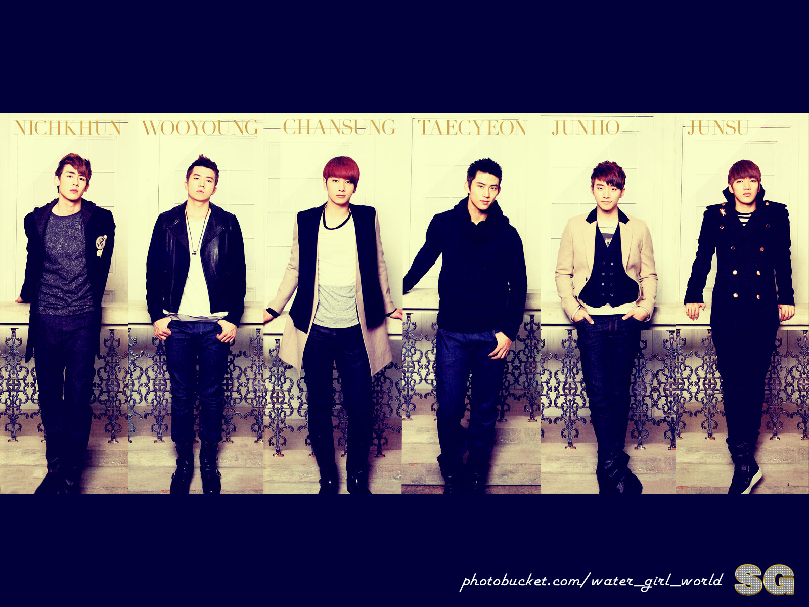 2PM  2pm Wallpaper 30186260  Fanpop