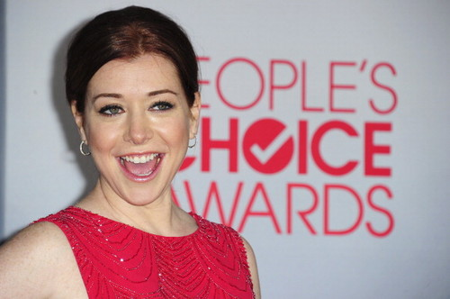 Alyson Hannigan wolpeyper containing a portrait titled Alyson Hannigan 2012 <3