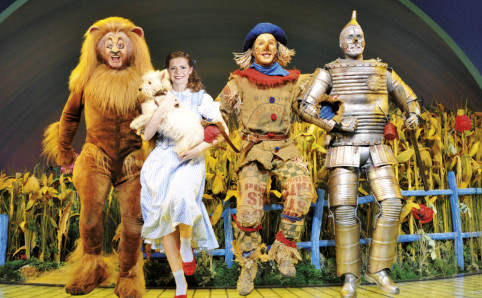 The Wizard of Oz wallpaper entitled Andrew Lloyd Webber's Wizard of Oz