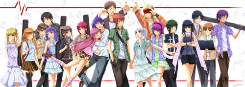 Angel Beats! achtergrond called Angel Beats! new life