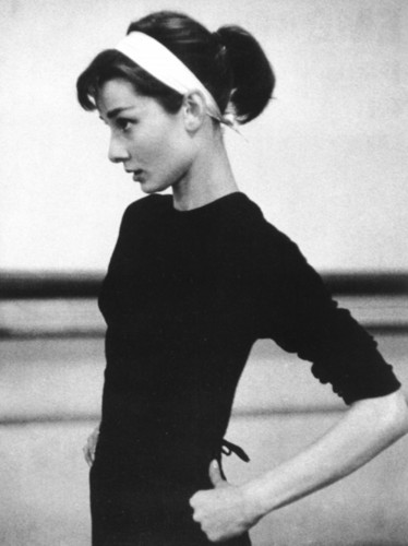 Audrey Hepburn Wallpaper Possibly With A Hip Boot And Tights Called
