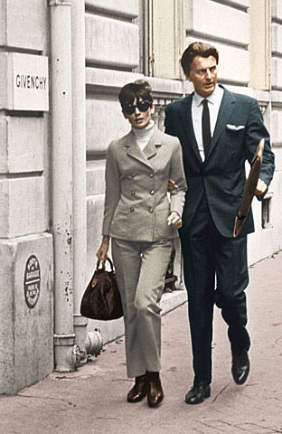 Audrey and Givenchy - audrey-hepburn Photo